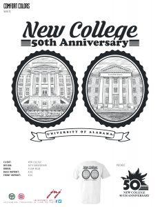 New College Tee Shirt Design